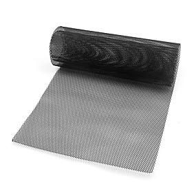 voordelige Auto frontgrille decoratie-auto voertuig zwart toon aluminiumlegering 3 x 6 mm ruitvormig rooster mesh