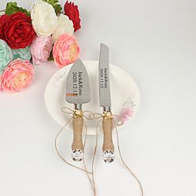 cheap Serving Sets-Hemp Rope / Resin / Steel Stainless Wedding / Birthday 1 set / PP Bag Knives / Shovel / Bakeware
