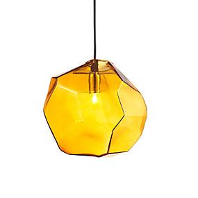 levne Závěsné lustry-OYLYW Geometrie Závěsná světla Tlumené světlo Sklo Sklo Mini styl Žárovka není zahrnuta v ceně. / G9