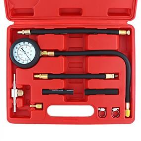 billige Nyankomne i oktober-0-100 psi drivstoffinjeksjonspumpe trykkinjektor tester trykkmåler kit