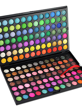 cheap Makeup For Eyes-168 Colors Eyeshadow Palette / Powders Eye Daily Makeup / Party Makeup Makeup Cosmetic / Matte / Shimmer