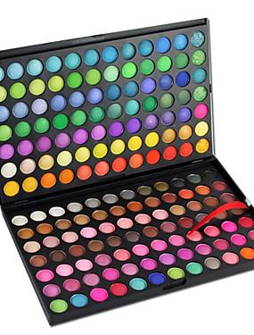 tanie Oczy-168 kolorów Cienie do powiek / Pudry Oko Matowy / Migotać / Połysk / przydymiony Makijaż codzienny / Makijaż imprezowy Kosmetyk
