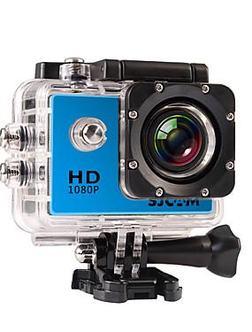 povoljno Sport és outdoor-SJCAM SJ4000 Akcija kamere / Sports Camera GoPro Vlogging Vodootporno / Višefunkcijski / LCD 32 GB 30fps 12 mp 4X 4000 x 3000 Pixel Ronjenje / Univerzális / Skydiving 2 inch CMOS H.264 Pojedinačno