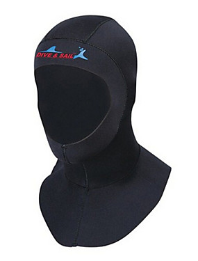 cheap Sports & Outdoors-Dive&Sail Diving Wetsuit Hood 3mm Neoprene for Adults - Thermal / Warm Ultraviolet Resistant Swimming Diving Snorkeling / Men's / Women's
