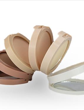 billige Ansiktsmakeup-5 farger Pudder Presset pudder 1 pcs Tørr Bleking / Dekning / Langtidsvarende Ansikt Kina Sminke kosmetisk