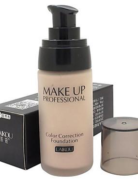 abordables Maquillaje Facial-De Un Color Corrector Base 1 pcs Impermeable / Transpirable / Blanqueo Rostro Natural Maquillaje Cosmético
