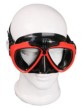 ieftine Sport i aktivnosti na otvorenom-Ochelari Mască de Scufundări Montură Rezistent la apă Ajustabil 1 pcs Pentru Cameră Acțiune Gopro 6 Sport DV Gopro 5/4/3/3+/2/1 Scufundare PU piele Plastic