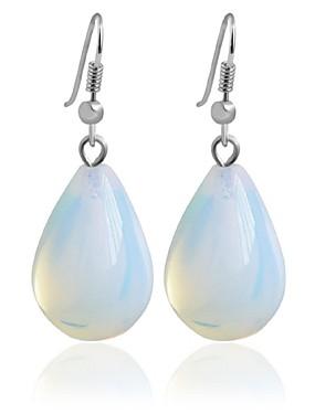voordelige De Bruiloftswinkel-Dames Druppel oorbellen Ring oorbellen Modieus oorbellen Sieraden Transparant Voor Bruiloft Feest 1pc