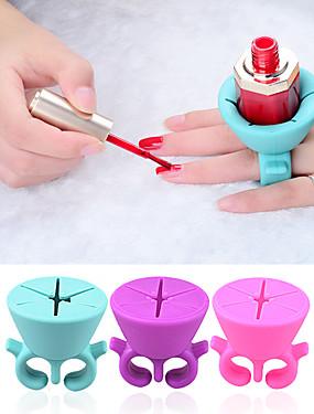 voordelige Ander Gereedschap-Siliconen Nail Art Tool Voor Duurzaam Nagel kunst Manicure pedicure Gepersonaliseerde / Klassiek Dagelijks