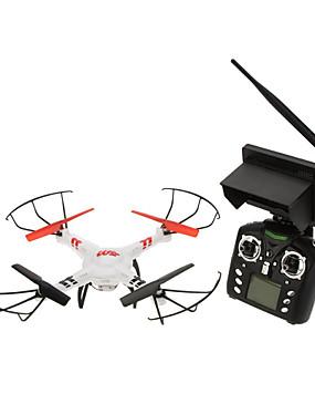 ieftine Lichidare Stoc-RC Dronă WLtoys V686G 4CH 6 Axe 5.8G Cameră HD 2.0MP Quadcopter RC FPV / O Tastă Pentru întoarcere / Failsafe Quadcopter RC / Telecomandă / 1 Baterie Dronă / Headless Mode / Zbor De 360 Grade / CE