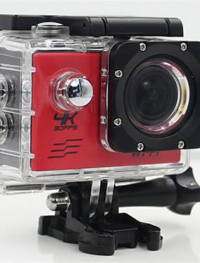 billige Sport og friluftsliv-SJ4K Action Kamera / Sportskamera GoPro Utendørs rekreasjon vlogging Wifi / Justerbar / Vidvinkel 32 GB 30fps 20 mp Nei 4608 x 3456 pixel Ski & Snowboard / Universell / Radiostyring Nei CMOS H.264