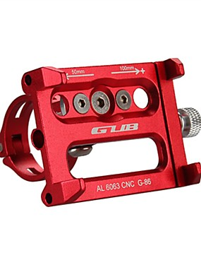 povoljno Sport és outdoor-Nastavak za telefon Prilagodljivo Anti-Slip Mobitel za Mountain Bike Motocikl Aluminum Alloy CNC iPhone X iPhone XS iPhone XR Biciklizam Pink Crvena Plava