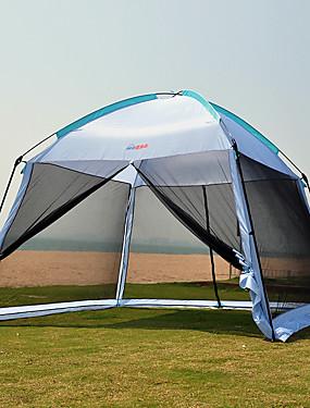 povoljno Sport és outdoor-7 osoba Szúnyoghálós sátor Pagoda sátor Vanjski Otporno na kišu Ultraviolet Resistant Prašinu Jednostruki sloj šator za kampiranje 1000-1500 mm za Camping & planinarenje Terilen Oksford tkanina