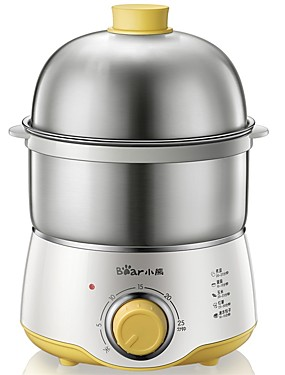 cheap Egg Cooker-Stainless / PP 220 V 360 W Power light indicator / Detachable / Low Noise Kitchen Appliance
