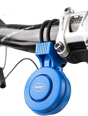 billige Sport og friluftsliv-Elektrisk sykkelhorn Nød Alarm 3 lydmoduser Verneutstyr til Vei Sykkel Fjellsykkel BMX TT Sykkel med fast gir Sykling Gummi PC ABS Svart Rød Blå 1 pcs