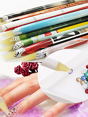 voordelige puntjes gereedschap-1pc puntjes gereedschap Voor Lichtgewicht Sterkte En Duurzaamheid Nagel kunst Manicure pedicure Uniek ontwerp / Klassiek Dagelijks
