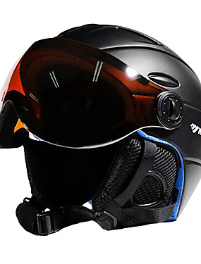 cheap Sports & Outdoors-MOON Ski Helmet Unisex Ski / Snowboard Sports Adjustable One Piece EPS PC CE Certified / 12 / Ultra Light (UL) / Helmet with Goggles