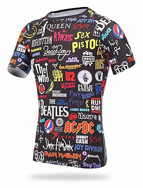 povoljno Sport és outdoor-XINTOWN Muškarci Uski okrugli izrez Kompresijska košulja Sportski T-majica Kompresivna odjeća Fitness Trening u teretani Vježbati Kratkih rukava Veći konfekcijski brojevi Odjeća za rekreaciju UV