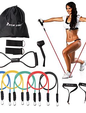 billige Sport og friluftsliv-KYLINSPORT Sett til resistansetrening Bæreveske Ankel Stropp Døranker Gummi Styrketrening Fysioterapi Yoga & Danse Sko Pilates Trening & Fitness Til Hjem Kontor