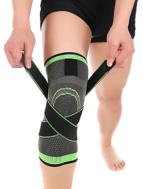 cheap Running & Trail-Knee Brace for Basketball / Running Unisex Moisture Wicking / Breathable / Stretchy Sports & Outdoor Lycra Spandex / Nylon 1 pc Green