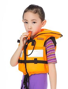 billige Sport og friluftsliv-Redningsvest Svømming Nylon EPE Skum Dykking Surfing Snorkling Topper til Barn Baby