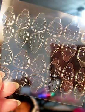 voordelige Ander Gereedschap-5 stuks Tips voor kunstmatige nagels Nail Art Tool Nail Art Kit Voor Modieus Design / Duurzaam Nagel kunst Manicure pedicure Gepersonaliseerde / Decoratief Dagelijks / Oefenen