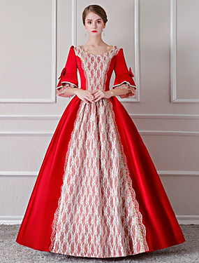 7b5b05bcde20 Χαμηλού Κόστους Παιχνίδια και χόμπι-Rococo Αναγέννησης 18ος αιώνας Στολές  Γυναικεία Φορέματα Σύνολα Κοστούμι πάρτι