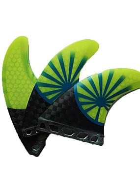 abordables Sports & Loisirs-Srfda Dérives G7 Avenir Fibre de Verre Aileron Central Aileron gauche Aileron droit Pour Planche de SUP Grandes Planches Petites Planches 3 pcs