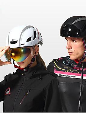 povoljno Sport és outdoor-Mountainpeak Odrasli Bike kaciga BMX Kaciga 13 Ventilacijski otvori Integralno oblikovana Light Weight ESP + PC Sportski Klizanje na ledu Biciklizam / Bicikl Bicikl - Crvena Zelena / crna Crna / plava