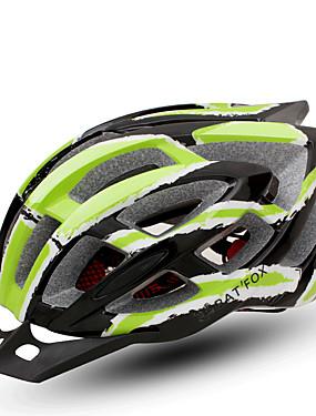 povoljno Sport és outdoor-BAT FOX Odrasli Bike kaciga 24 Ventilacijski otvori CE Otporan na udarce Integralno oblikovana Prozračnost EPS PC Sportski Cestovni bicikl Mountain Bike Biciklizam - Zelen Muškarci Žene Uniseks
