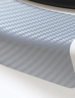 povoljno Weekly Deals4-univerzalni 4pcs 60cm x 6.7cm praga scuff protiv ogrebotina ugljičnih vlakana auto vrata naljepnica auto oprema styling