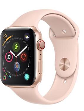 abordables Montre remise à neuf-Apple Apple Watch Series 4 44mm(GPS + Cellular) Montre Connectée iOS Remis à neuf Bluetooth Sportif Imperméable Moniteur de Fréquence Cardiaque Ecran Tactile Calories brulées Minuterie Chronomètre