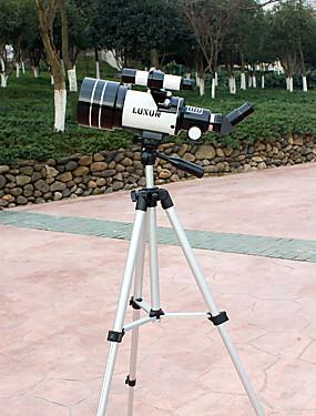 povoljno Sport és outdoor-LUXUN® 15-150 X 70 mm Teleskopi Leće besplatno Assemblement Vodootporno Outdoor Visoka rezolucija BAK4 Kampiranje Outdoor Space / Astronomy Spectralite Aluminij / Lov / Promatranje ptica