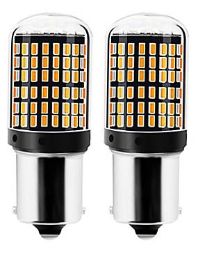 povoljno Svjetla za vožnju unatrag-2pcs 1156 / 7440 Automobil Žarulje 22 W SMD 3014 144 LED Žmigavac svjetlo / Svjetla za vožnju unatrag (backup) Za Univerzális Sve godine