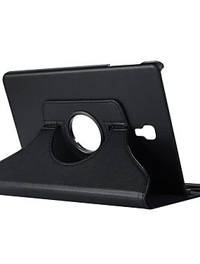 billige Bentoben-Etui Til Samsung Galaxy Tab A2 10.5 (2018) T595 T590 360° rotasjon / Støtsikker / med stativ Heldekkende etui Ensfarget Hard PU Leather