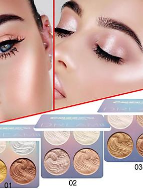 billige Ansiktsmakeup-merkevare cmaadu høyglans reparasjonsevne pulver vanntett varig lysende hudfarge flash øyenskygge