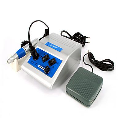 professionale elettrico manicure macchina chiodo con file di foratura pedale (mj010)