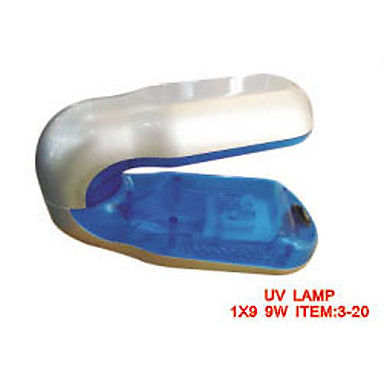 Portable 9W Nail Gel UV Curing Lamp