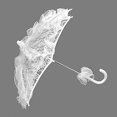 Poignée crochet Mariage Parapluie Parapluie Env.58cm