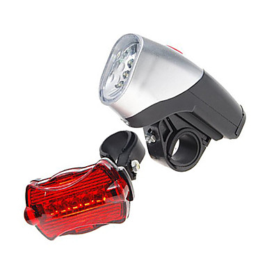 Bisiklet Işıkları Bisiklet Ön Işığı Bisiklet Arka Işığı LED Bisiklet AAA Lümen Batarya Bisiklete biniciliği