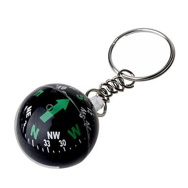 křišťálová koule kompas přívěsek