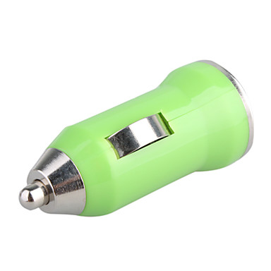 700mA auton tupakansytyttimen powered usb adapteri / laturi (dc 12v / 24v) -vihreä iPhone 6 iphone 6 plus