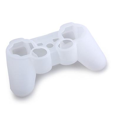 étui en silicone de protection pour ps3 contrôleur (blanc)