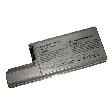 Замена Dell батареи ноутбука gsd0820 для широты d820/d531/d830