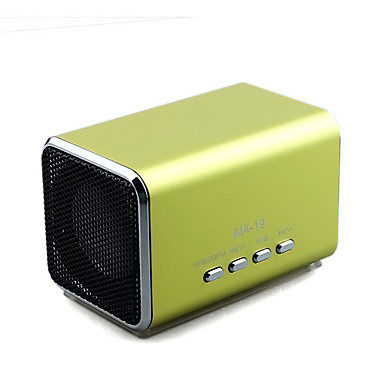 mini haut-parleur mp3 rechargeable avec slot usb tf / (MA-19)