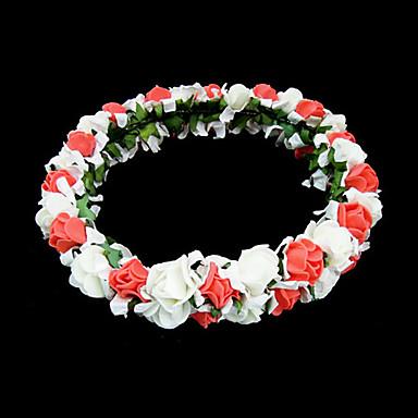 Kristal / Tekstil / Pjena tijare / Cvijeće s 1 Vjenčanje / Special Occasion / Zabava / večer Glava