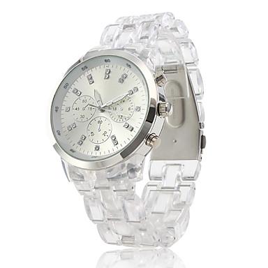 Dámské Módní hodinky Křemenný Plastic Kapela Stříbro Značka-