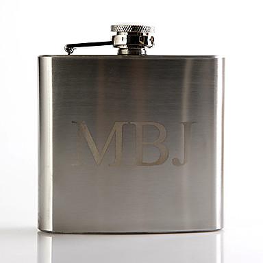 cheap Wedding Gifts-Personalized Stainless Steel Barware & Flasks / Hip Flasks Groom / Groomsman Wedding / Anniversary / Birthday