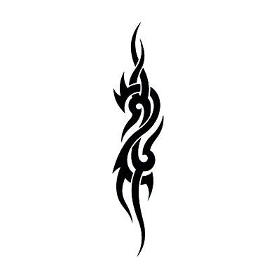 #(5) Tatoveringsklistermærker Totem Serier Mønster VandtætDame Pige Teenager Flash tatovering Midlertidige Tatoveringer