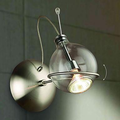 벽 빛 다운라이트 벽 램프 35W 110-120V 220-240V MR16 모던 / 콘템포라리 니켈